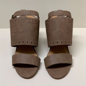Rampage Nude Sandals